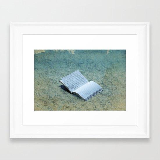 Memories Lost Framed Art Print