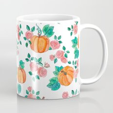 Pumpkins and Roses Mug