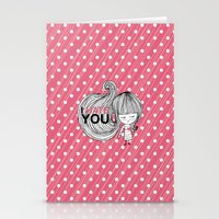 I Hate You / First Stationery Cards