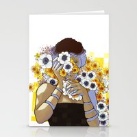 Sleep Under the Petals Stationery Cards