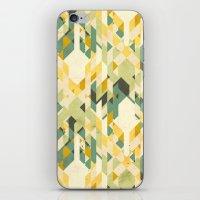Des-integrated Tartan Pa… iPhone & iPod Skin
