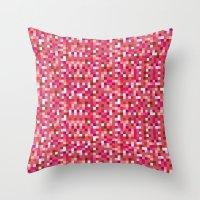 Pixel Art 3 Throw Pillow