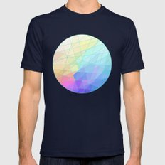 Spectrum Mens Fitted Tee Navy SMALL