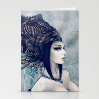 Zodiac Sign: Aquarius Stationery Cards