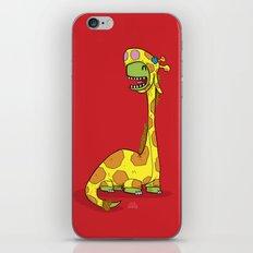 Bronto-raffe iPhone & iPod Skin