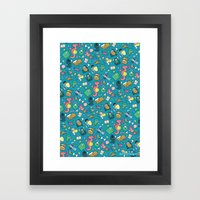 Dungeons & Patterns Framed Art Print