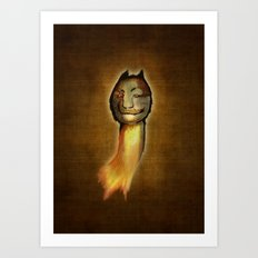 ...meanwhile in the woods... Art Print