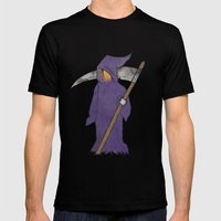 Grim Reaper Mens Fitted Tee Black SMALL
