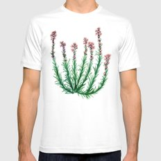 Heller's Blazing Star Mens Fitted Tee White SMALL