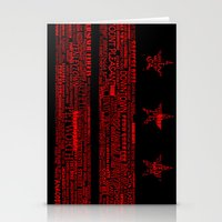 DC Flag Red Stationery Cards