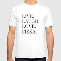 italian proverb Mens Fitted Tee White SMALL