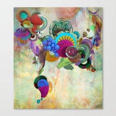 Liquid Grip Canvas Print