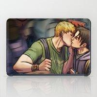 Theodore And William 04 iPad Case
