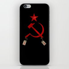 Communism vs. Capitalism iPhone & iPod Skin