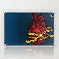 Heart of a Crime Scene Laptop & iPad Skin