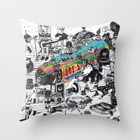 GLOBAL A GO-GO Throw Pillow