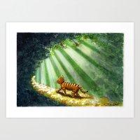 Sunshine Charlie Art Print