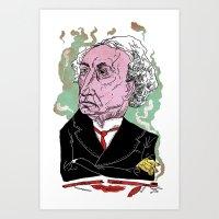 Jon A. McDonald Art Print