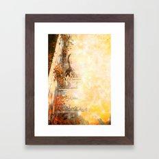 Cat's Stroll Framed Art Print