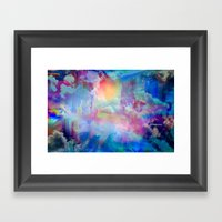 You Are Entering A Beaut… Framed Art Print