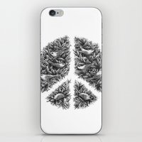 Peace Naturalis iPhone & iPod Skin