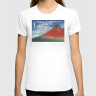South Wind, Clear Sky (G… Womens Fitted Tee White LARGE