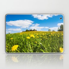 Dandelion field Laptop & iPad Skin