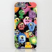 cute monsters iPhone 6 Slim Case