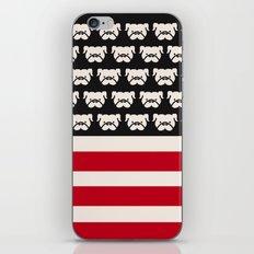 Pugtriotic American Flag iPhone & iPod Skin
