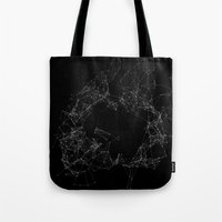 Artificial Constellation Plain Tote Bag