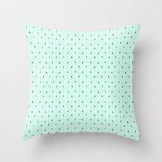 Mint Magic Arrows Throw Pillow