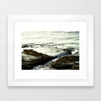 Lava Shelf Framed Art Print