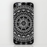 Licorice Mandala iPhone & iPod Skin