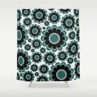 Sea Flower Shower Curtain
