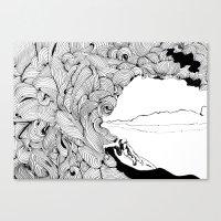 surfer dude Canvas Print
