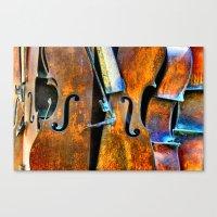 Orchestra Canvas Print