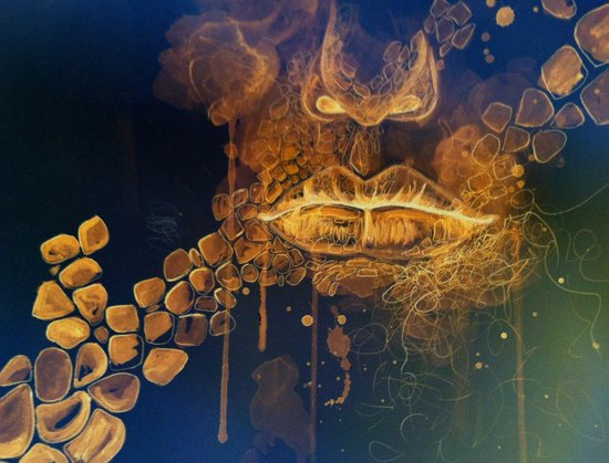 Shut Your Mouth Art Print