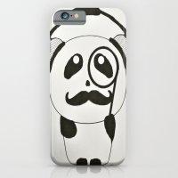 iPhone & iPod Case featuring Professor Panda by Elli F