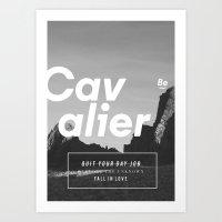 The Cavalier Art Print
