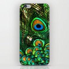 Eye of the Peacock iPhone & iPod Skin