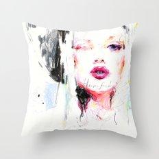 Heavenfaced Throw Pillow