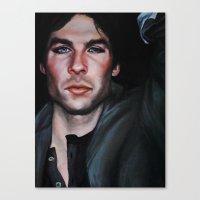 Ian Somerhalder (Damon from Vampire Diaries) Canvas Print
