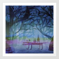 magical place Art Print