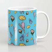cutout flowers Mug