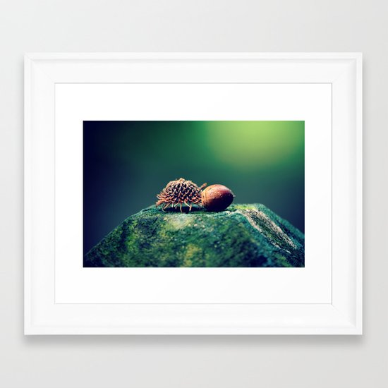 Falling For  You Framed Art Print