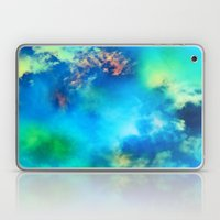 Cosmic Clouds In Blue Laptop & iPad Skin
