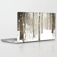 Wintry Mix Laptop & iPad Skin
