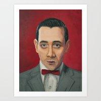 Pee-Wee Herman, A Portra… Art Print