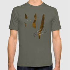 SuperHeroes Shadows : Wo… Mens Fitted Tee Lieutenant SMALL