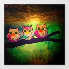 owl-875 Canvas Print